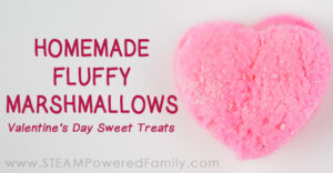 Make sweet, fluffy Valentine's treats with this easy Marshmallow recipe. Explore the science behind marshmallows and why they are so soft, fluffy and tasty.