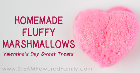 Valentine's Day Treats – Homemade Marshmallows