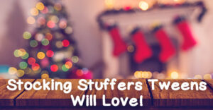 The tween years can be hard to shop for, but don't fear! We've gathered up some of the best ideas for stocking stuffers for tweens that they will love.
