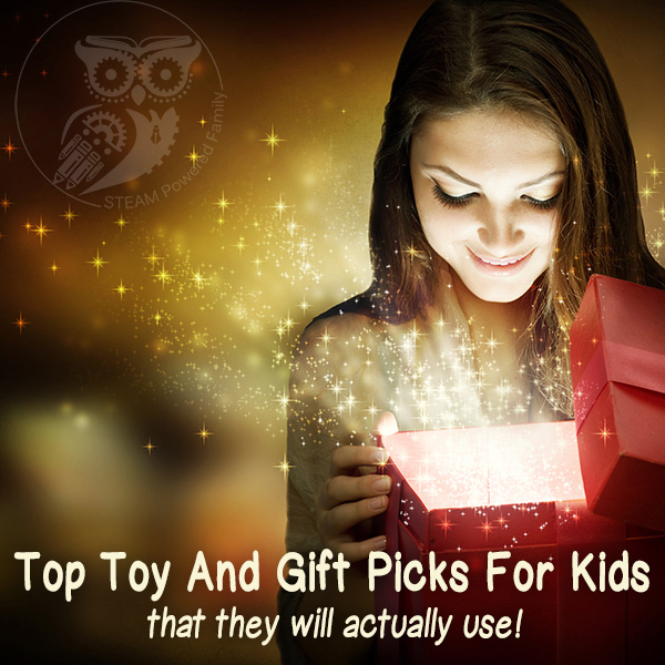 Our picks for the top toys and gifts for your kids for this holiday season. These are our actual picks that are under our tree! Smart gifts for smart kids.