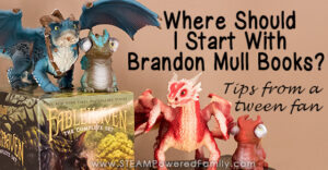 Brandon Mull is a prolific writer of novels that are packed with adventure and fantasy that thrills young readers. It can be hard to know where to start reading Brandon Mull Books. Here are tips and thoughts from a tween fan.