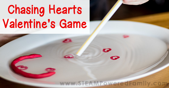 Chasing Hearts Challenge – Valentine's Day Science Activity