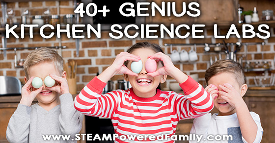 40 Genius Kitchen Science Lab Projects For Kids