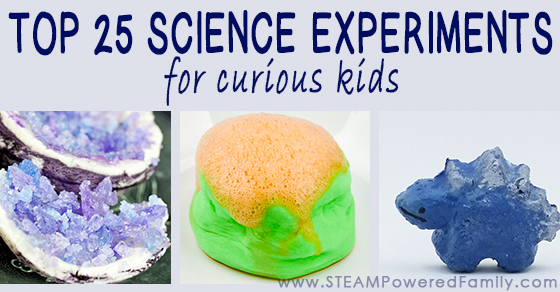 Over 25 Of Our Top Science Experiments For Curious Kids