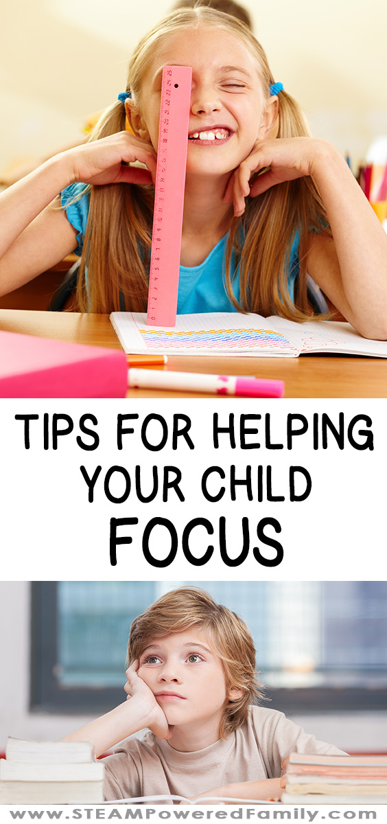 Tips for helping your child focus