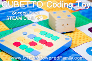 Cubetto Coding Toy STEAM Challenge
