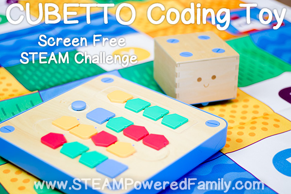 Coding Toy STEAM Challenge With Cubetto