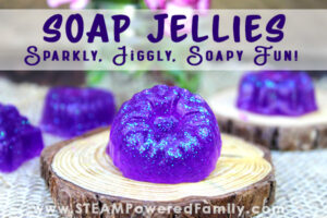 Jelly Soap Making - Sparkly, Jiggly, Soapy Fun Jellies!