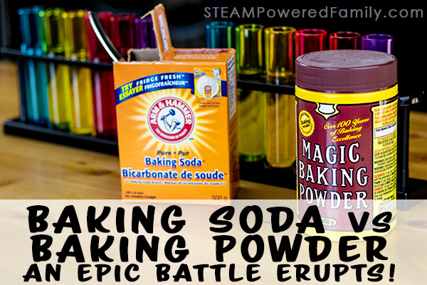 Baking Soda vs Baking Powder Science Experiment