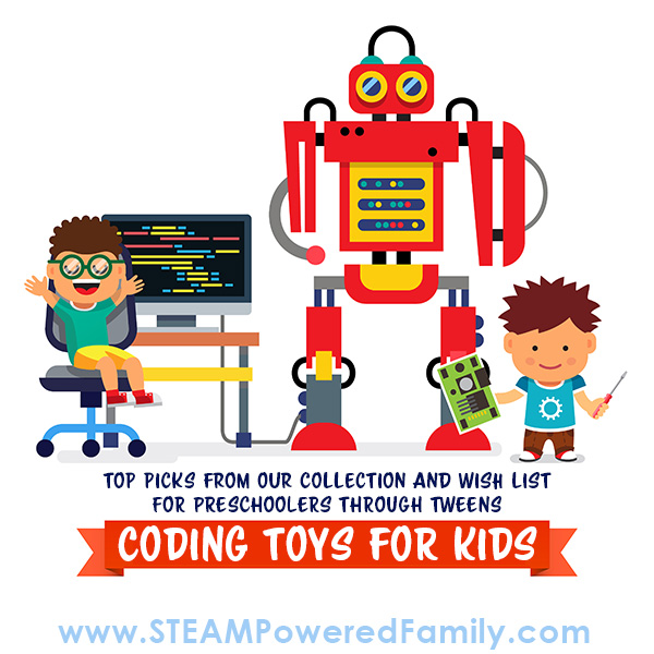 Our top coding toy picks for preschoolers, kids and tweens. The best Coding Toys for Kids!