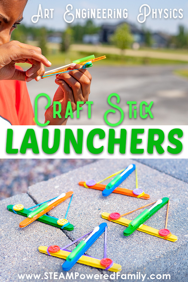 The Coolest Project For Kids With Craft Sticks Engineer Launchers