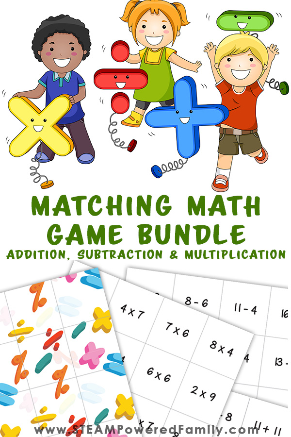 Math game for grade 3 addition, subtraction and multiplication practice