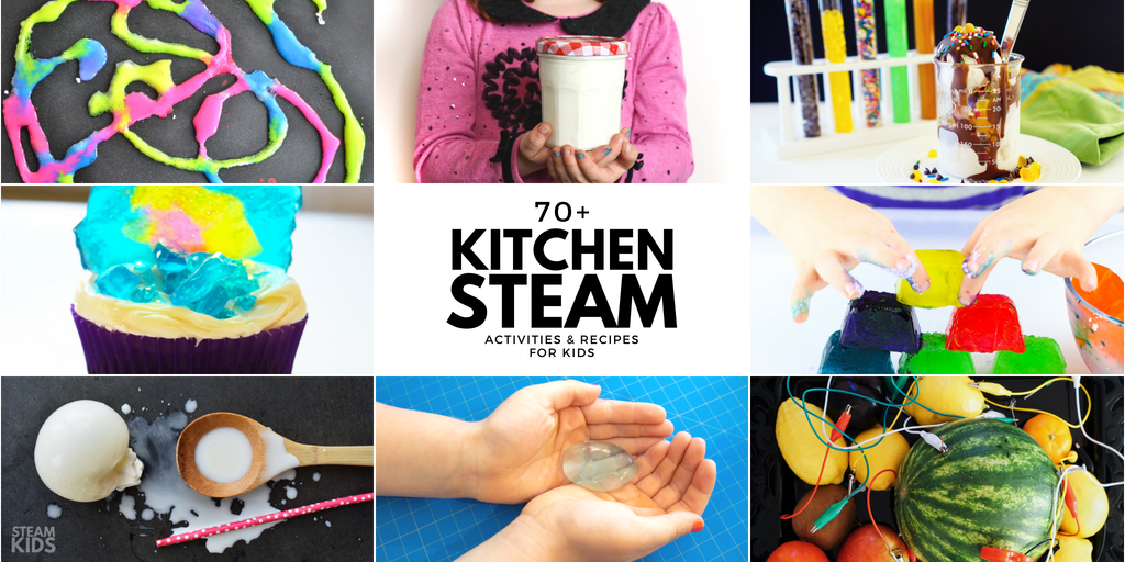 The Best Science Experiments In The Kitchen ~ STEAM Kids