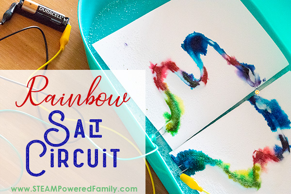 An easy circuit experiment for all ages, salt circuits are fun for all ages