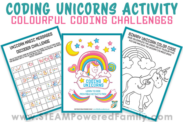 Coding for kids has never been so colourful! This Coding Unicorns activity embraces colour and coding to inspire and teach kids basic coding skills.