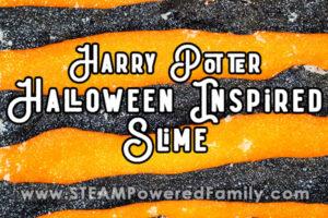 Harry Potter inspired Halloween slime