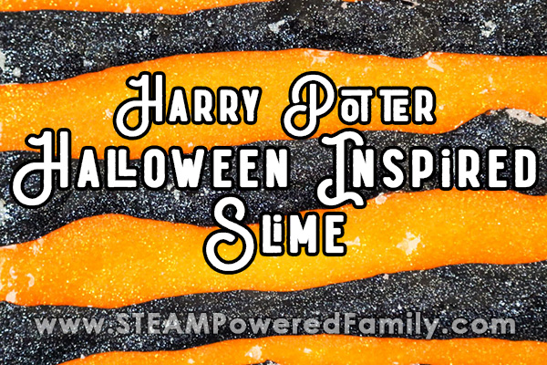 Harry Potter inspired Halloween slime