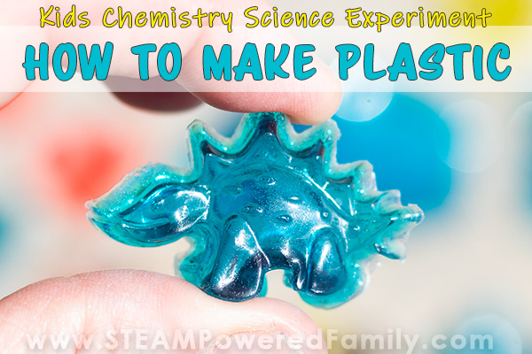 How to make plastic chemistry for kids