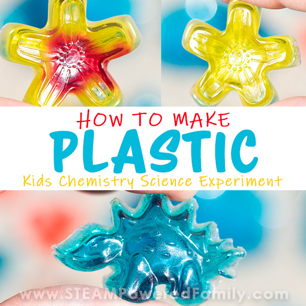 How To Make Plastic - Gelatin Bioplastic Science Project