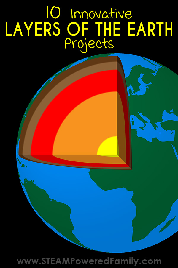 Learn about the layers of the Earth with these innovative and creative projects