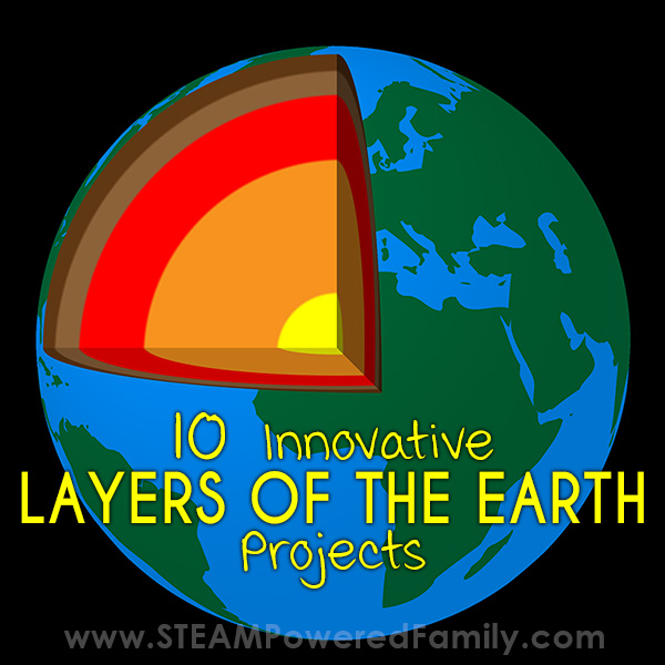 10 Genius Layers Of The Earth Projects For Kids