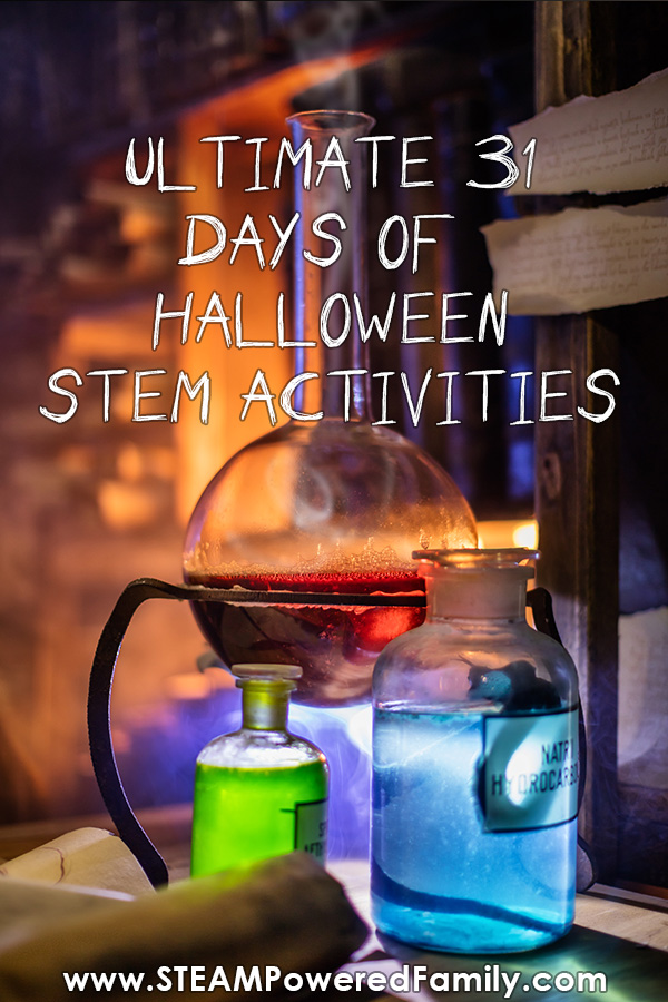 31 Days of Halloween STEM Activities
