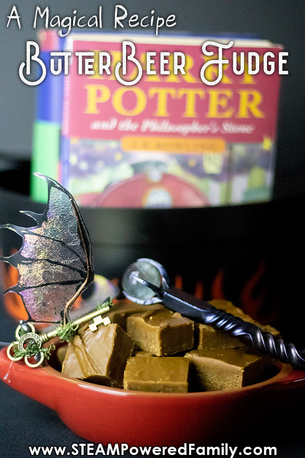 Butterbeer fudge recipe is easy and tastes amazing. Includes science lesson so you can use it in potions class