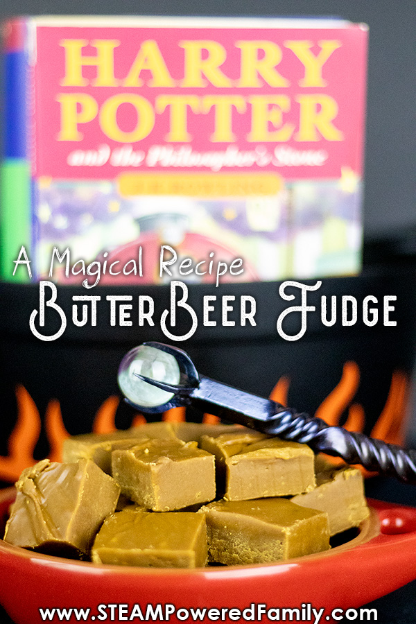 Harry Potter would love this Butterbeer Fudge recipe