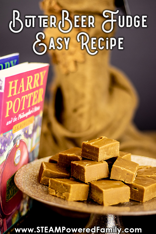 Butterbeer fudge recipe with potions (science) lesson