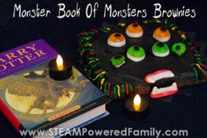 Monster Book of Monsters Brownies