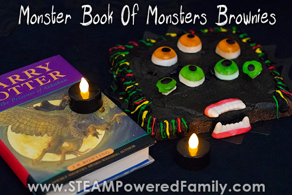 The Monster Book of Monsters Brownies – Ready to bite!