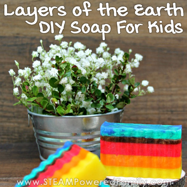 An environmentally friendly way of learning about the layers of the Earth and celebrating our planet