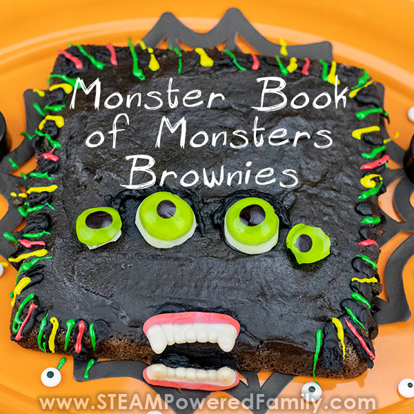 Monster book of monsters brownie recipe that is so good and kids love.