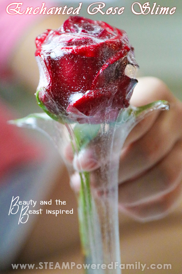 This rose petal slime is perfect for a princess