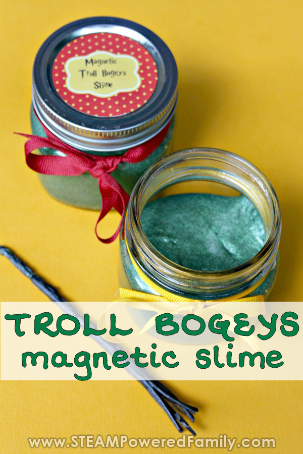 Create a custom wand to play with troll bogeys magnetic slime