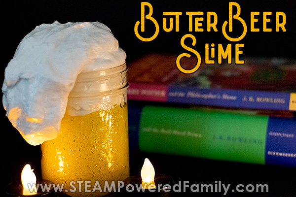Butterbeer slime recipe that is simply magical