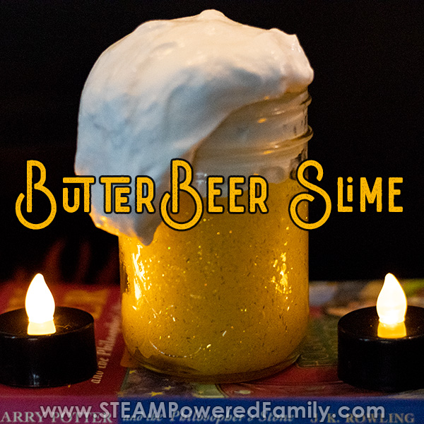 Butterbeer slime