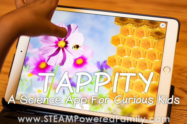 science app that teaches through interactive storytelling