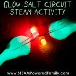 Glow Salt Circuit STEAM Activity
