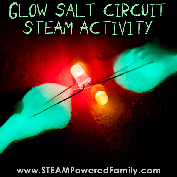Glow Salt Circuit STEAM Activity