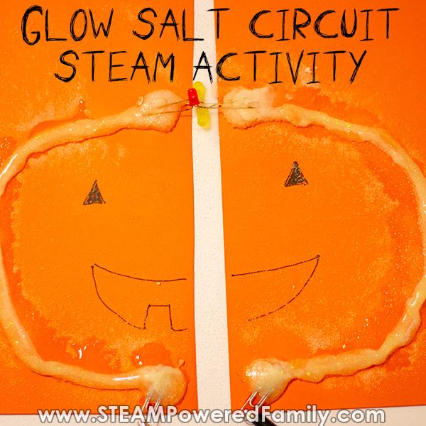 Designing our glow salt circuit