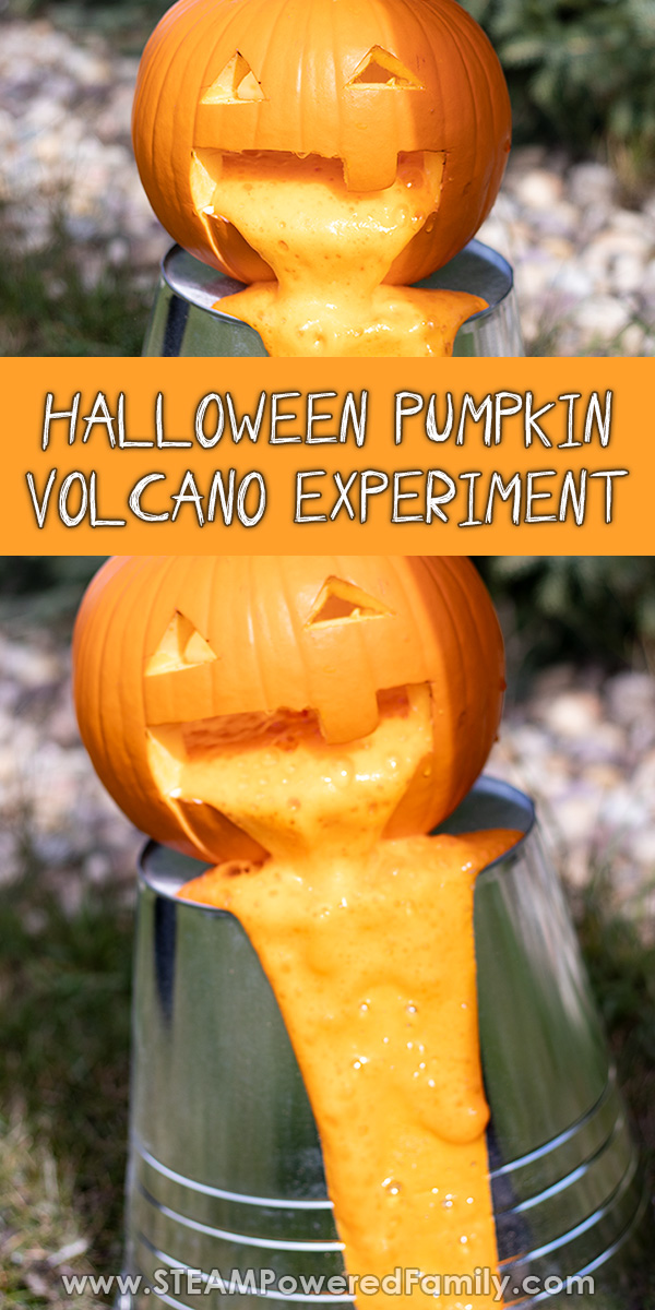 Halloween Pumpkin Science Experiment for Fall