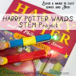 Harry Potter Wands project for kids using STEM principles