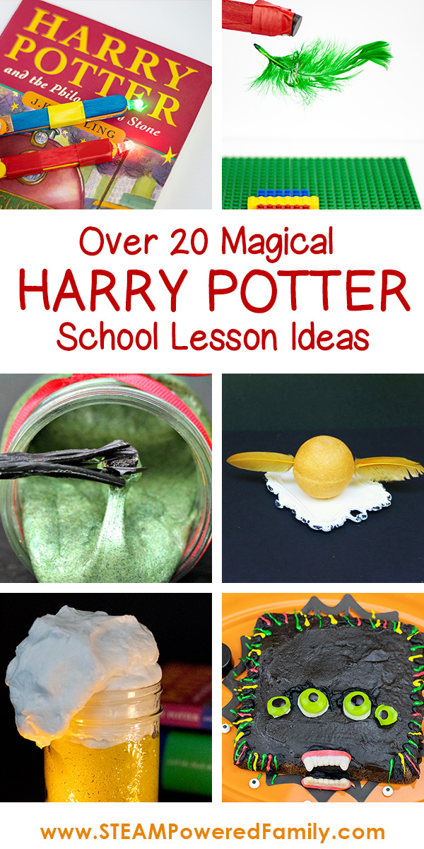 Over 20 magical science and STEM activities for a Harry Potter School inspired lesson