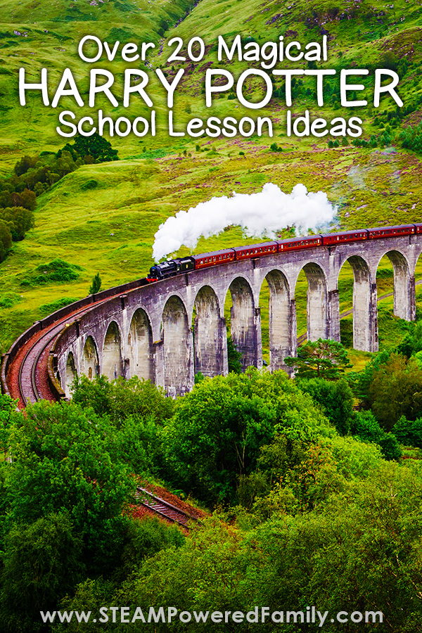 Over 20 magical Harry Potter school lesson ideas that will make your child's eyes LUMOS! Explore science and STEM with your young wizards just like at Hogwarts. #HarryPotter #Science #STEMActivities