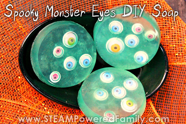 Monster Eyes Soap Project For Halloween