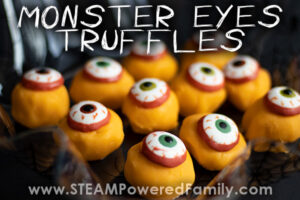 simple and delicious monster eyes truffle recipe