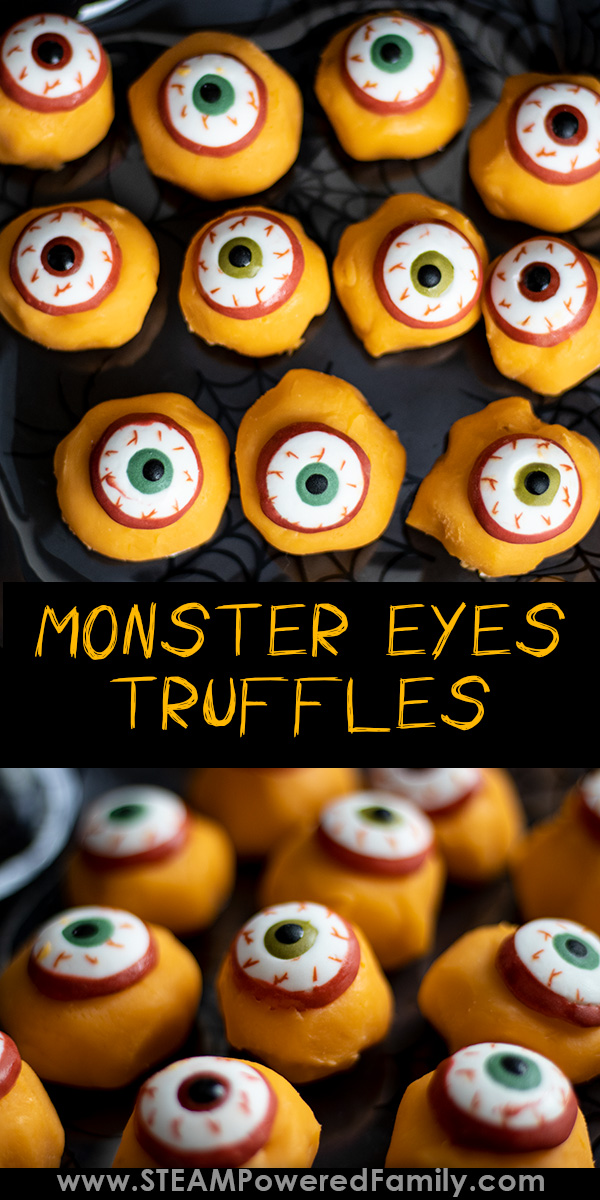Monster Eyes Truffle Recipe