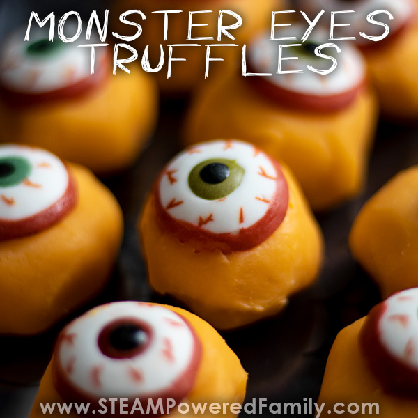 Delicious simple Monster Eyes Truffle Recipe