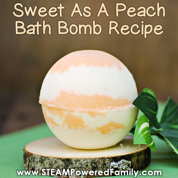 Peach Bath Bombs
